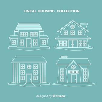 Collecte de logements linéaires
