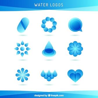 La collecte des logos de l'eau