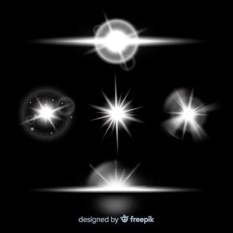 Collecte de lumière réaliste