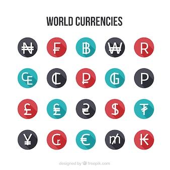 La collecte des monnaies du monde