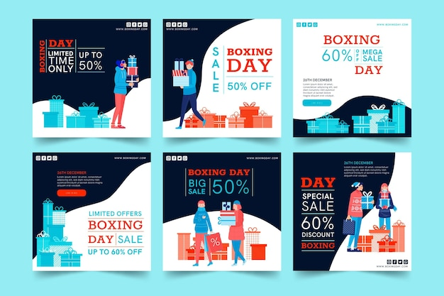 Collecte de poste de boxe day ig