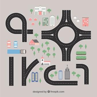 Collecte de routes