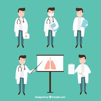 Collecte des tâches du médecin
