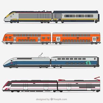 Collecte de trains à grande vitesse
