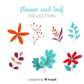 Collectio fleurs et feuilles