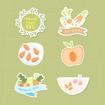 Collection 100% d'aliments naturels