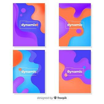 Collection d'affiches dynamiques