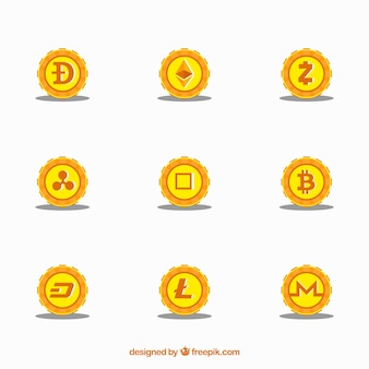Collection d'altcoins