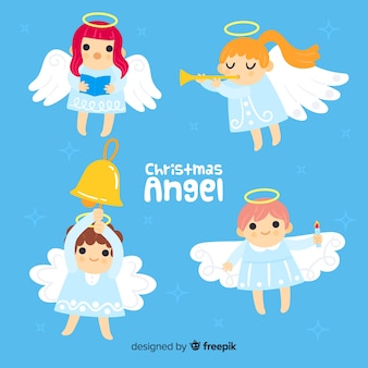 Collection d'anges musicaux