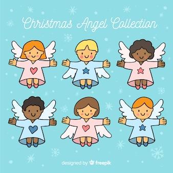 Collection d'anges de noël