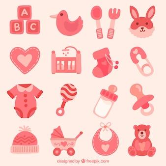 Collection d'articles pour bébés