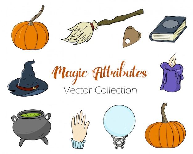 Collection d'attributs magiques