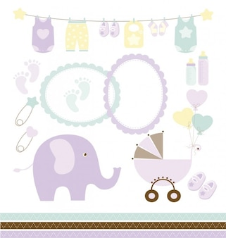 Collection baby shower
