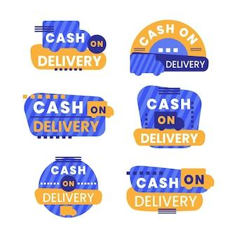 Collection de badges contre remboursement