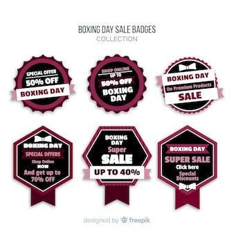 Collection de badges de vente le lendemain