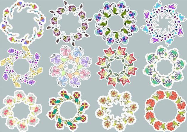 Collection de bague florale