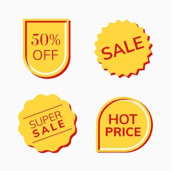 Collection de balises à prix réduits