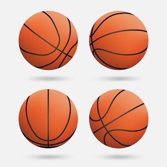 Collection de ballons de basket