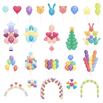 Collection de ballons