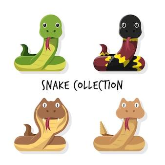 Collection de bandes dessinées de serpent