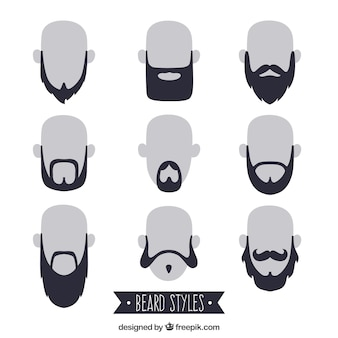 Collection beardstyle