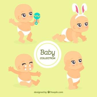 Collection de bébés mignons