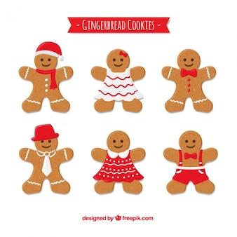 Collection de biscuits au gingembre