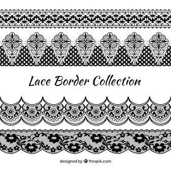 Collection border border vintage