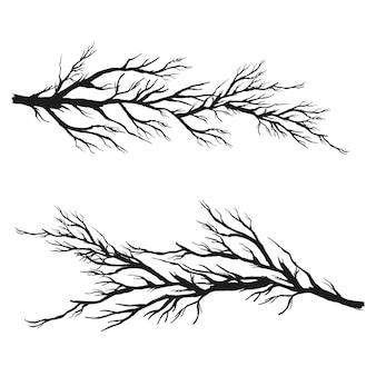 Collection de branches vectorielles