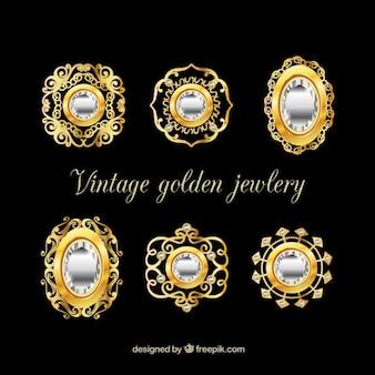 Collection de broche de luxe