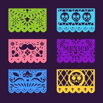 Collection de bruant mexicain