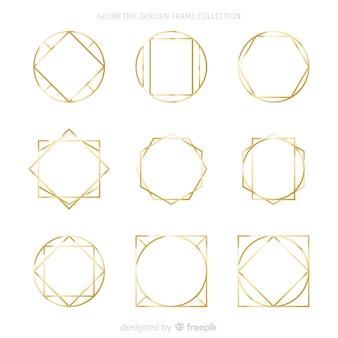 Collection cadre doré