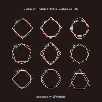 Collection de cadres géométriques
