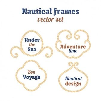 Collection de cadres nautiques