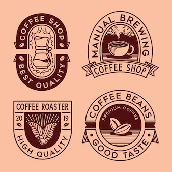 Collection de café logo