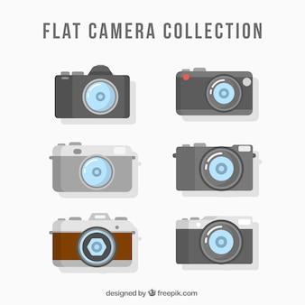 Collection de caméras plates