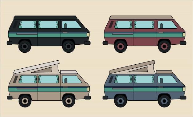 Collection camper van