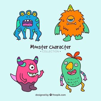 Collection de caractères monster