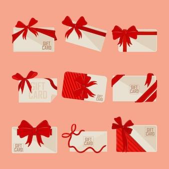 Collection de cartes-cadeaux