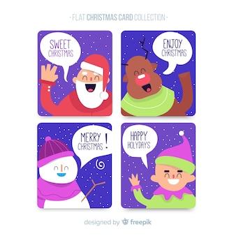 Collection de cartes de noël