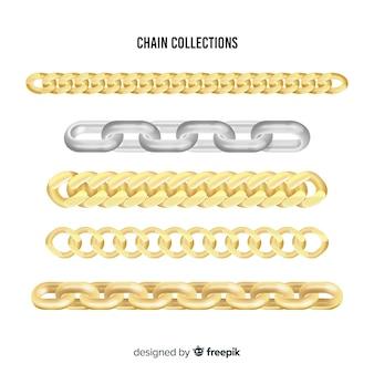 Collection de chaînes