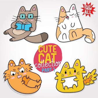 Collection de chats mignons partie 1