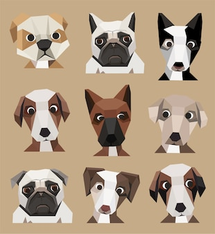 Collection de chiens