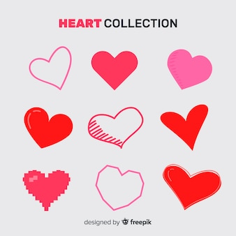 Collection coeur simple
