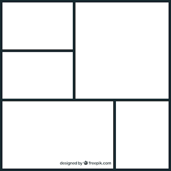 Collection de collage de cadre photo
