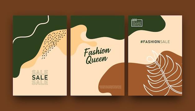 Collection colorée de modèle à la mode à vendre