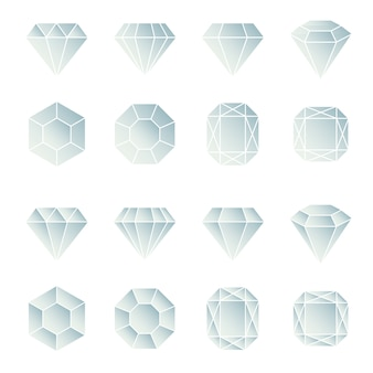Collection de conception de diamants