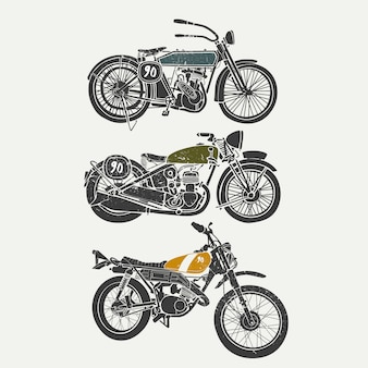 Collection de conception de moto