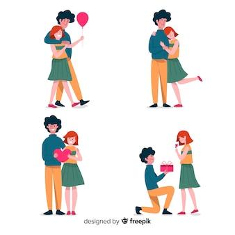 Collection couple amoureux