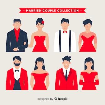 Collection couple marié